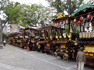 松本天神祭 山車